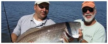 Bull Red fishing charters available at Galveston Sport Fishing